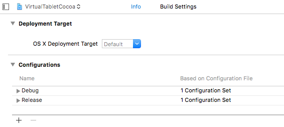 xcode_configuration